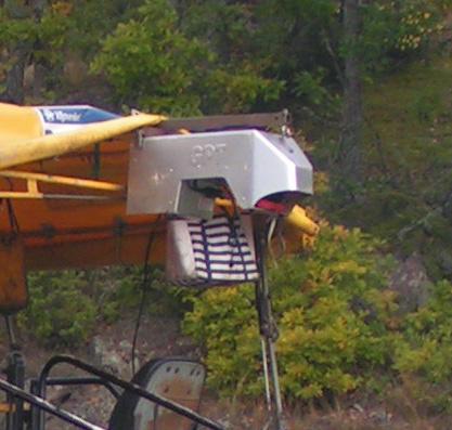 Bild 11:9 Värmekamera monterad på läggare